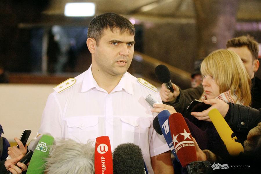 Пресс-конференция вметро. © Антон Тушин/Ridus.ru