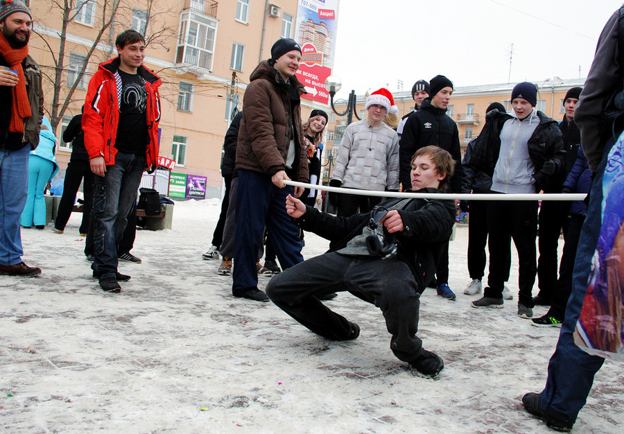 Русские забавы. Дуга  © Олеся Шевцова/Ridus.ru