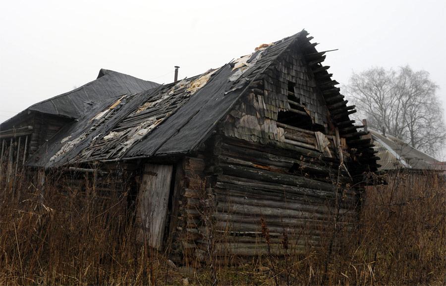 Заброшенная деревня. © Григорий Сысоев/РИА Новости