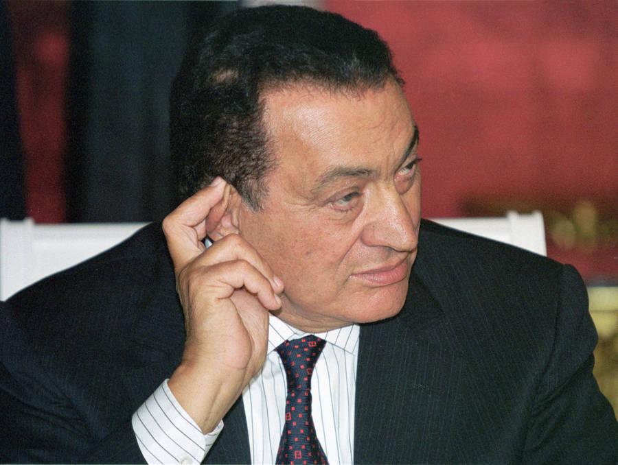 Бывший президент Египта Хосни Мубарак. Архив. © Владимир Родионов иСергей Величкин/ИТАР-ТАСС