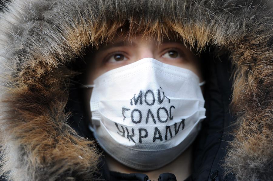 Митинг «Зачестные выборы» наНовом Арбате. © Илья Питалев/РИА Новости
