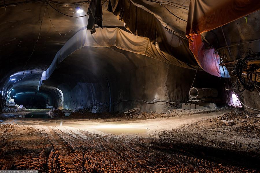 Строительство железной дороги Тель-Авив - Иерусалим (37 фото + 2 видео). стройка, тоннель, линия, жд дороги.