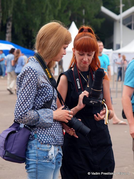 Вечный спор. Парк Сокольники. Москва. © Vadim Preslitsky