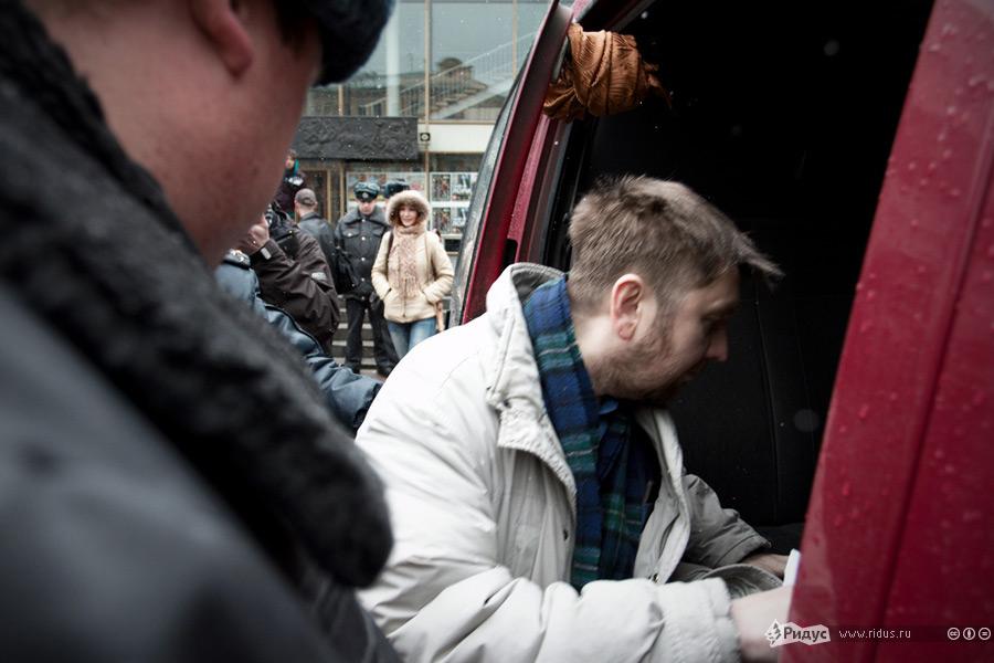 Пикет ЛГБТ-движения вПетербурге. © Роман Яндолин/Ridus.ru