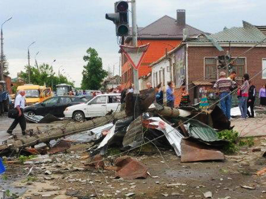После урагана.© МЧС РФ/РИА Новости