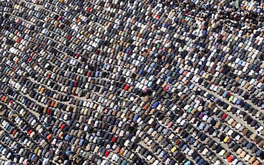 Пятничная молитва наплощади Тахрир вКаире. © Amr Abdallah Dalsh/Reuters