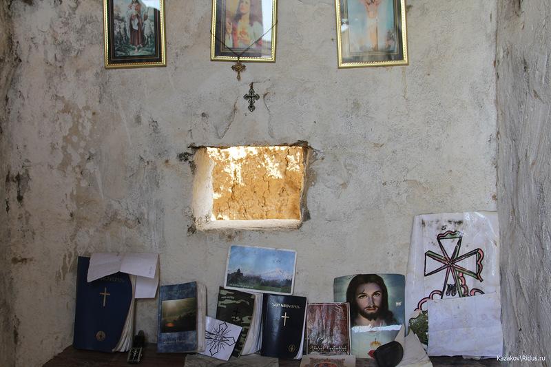 Молельня вукреп.пункте © Пётр Казаков/Ridus.ru