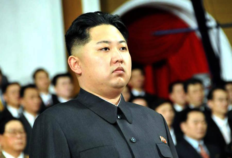 Сынлидера КНДР Ким Чен Ира Ким Чен Ынвовремя церемонии прощания сотцом вМемориальном дворце Кумсусан. © ИТАР-ТАСС