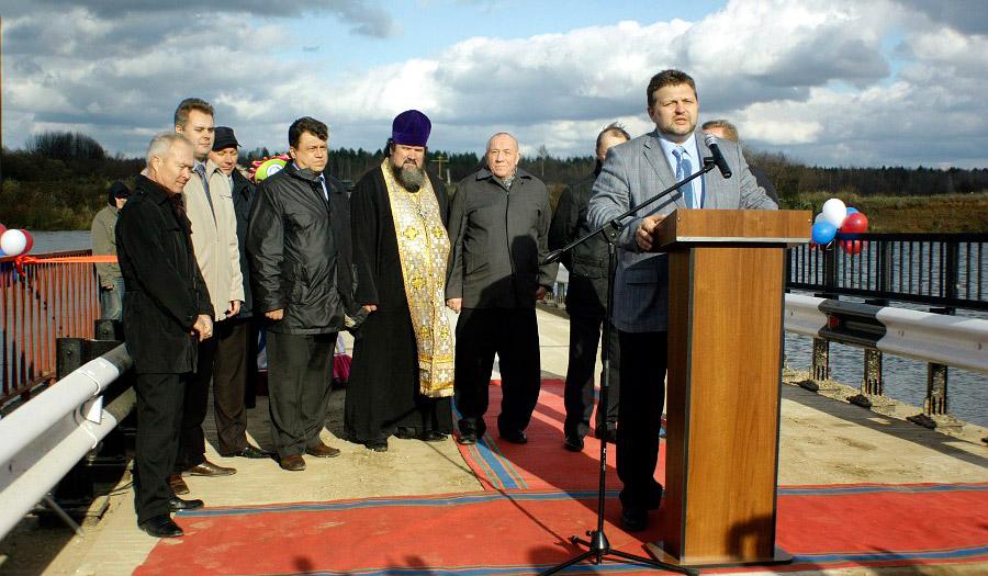 Никита Белых счиновниками торжественно открывают 30млн строение © chepetsk.ru