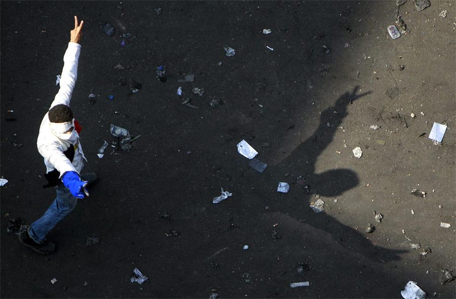 Демонстрант наплощади Тахрир вКаире. © Amr Abdallah Dalsh