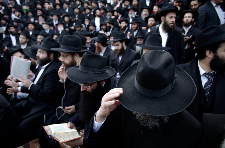 Наежегодной конференции вНью-Йорке собралось более тысячи раввинов иудейского движения Любавич. © Seth Wenig/АP Photo