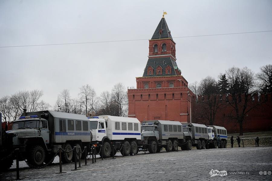 Усиление мер безопасности вМоскве. © Антон Белицкий/Ridus.ru
