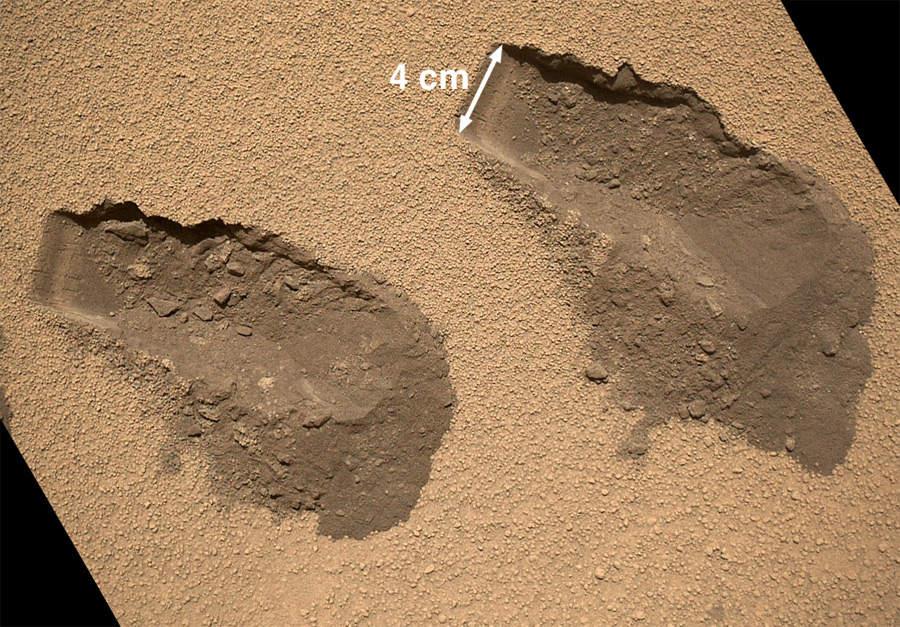 Марсоход curiosity обнаружил на марсе