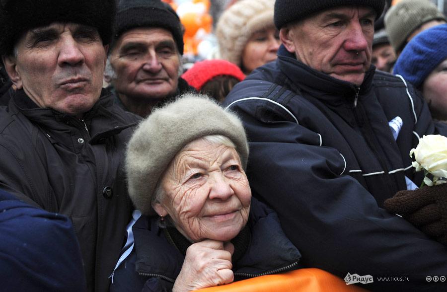 Митинг протеста «Зачестные выборы» вМоскве 24декабря 2011 года. © Василий Максимов/Ridus.ru