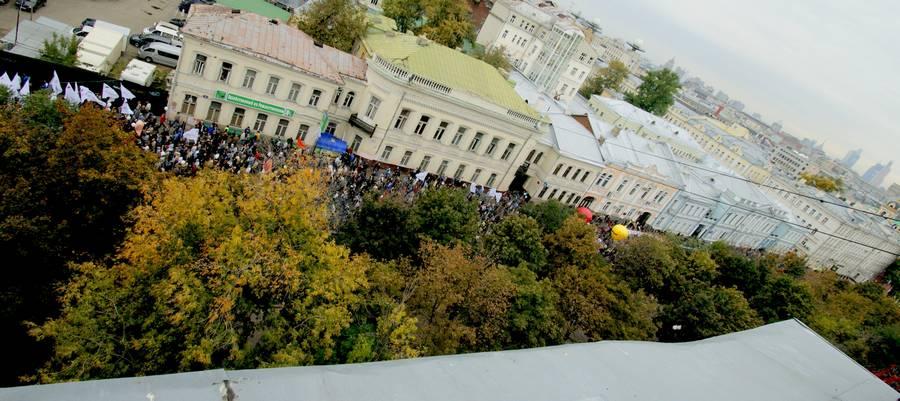 Марш миллионов 15сентября 2012 года.