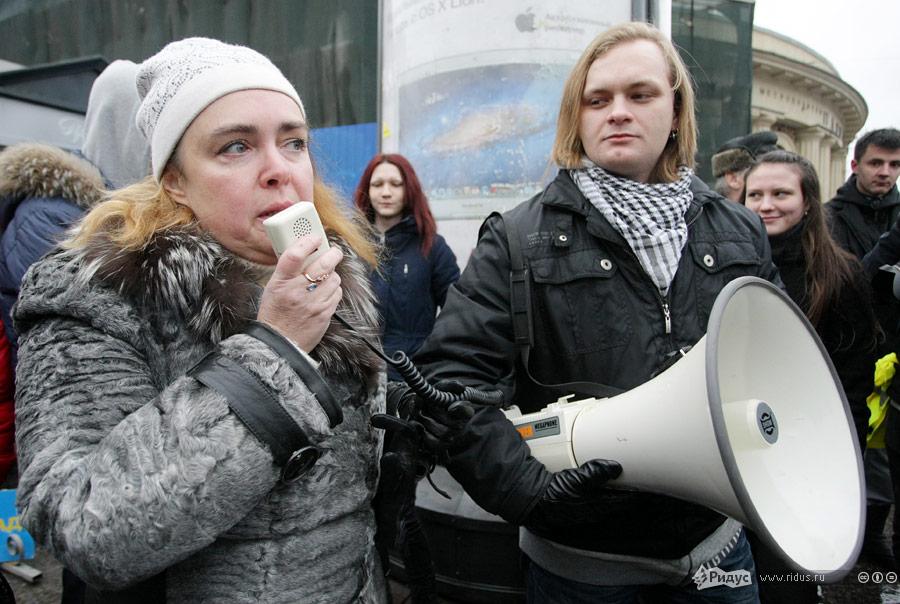 Акция протеста «Зачестные выборы» вСанкт-Петербурге 10декабря 2011 года. © Антон Тушин/Ridus.ru