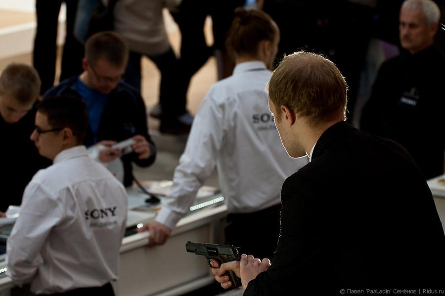 """Джеймс Бонд"" настенде компании SONY. Фото: © Павел «PaaLadin» Семёнов |Ridus.ru"