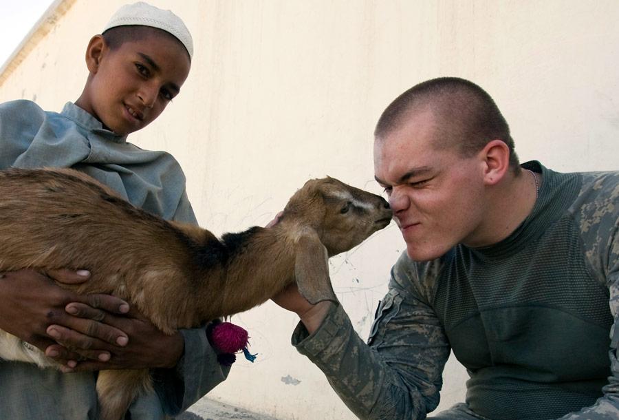 Солдат армии США вАфганистане. © Шамиль Жуматов/Reuters