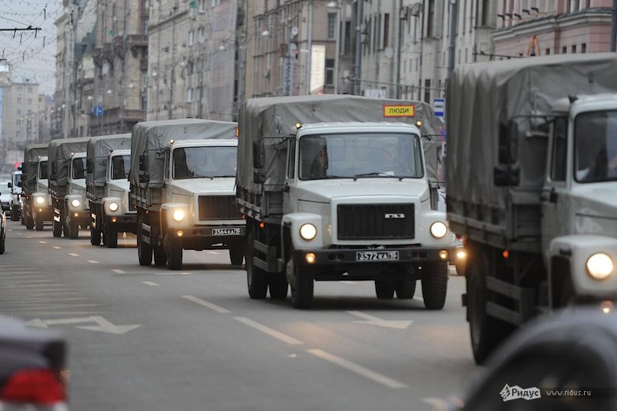Усиление мер безопасности наТриумфальной площади вМоскве 7декабря 2011 года. © Антон Белицкий/Ridus.ru
