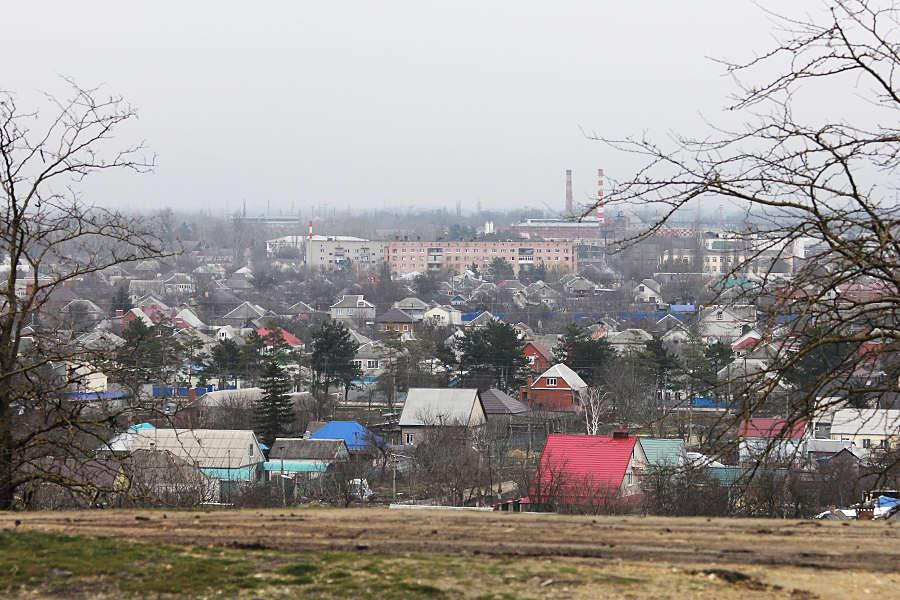 Общий вид напострадавший район Крымска © Никита Перфильев