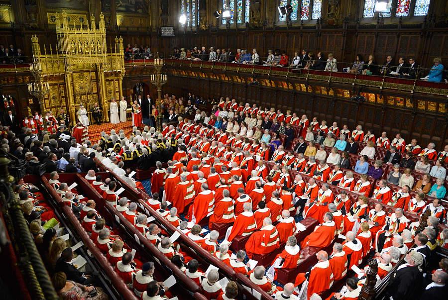 Церемония открытия парламента вЛондоне. © Toby Melville/Reuters