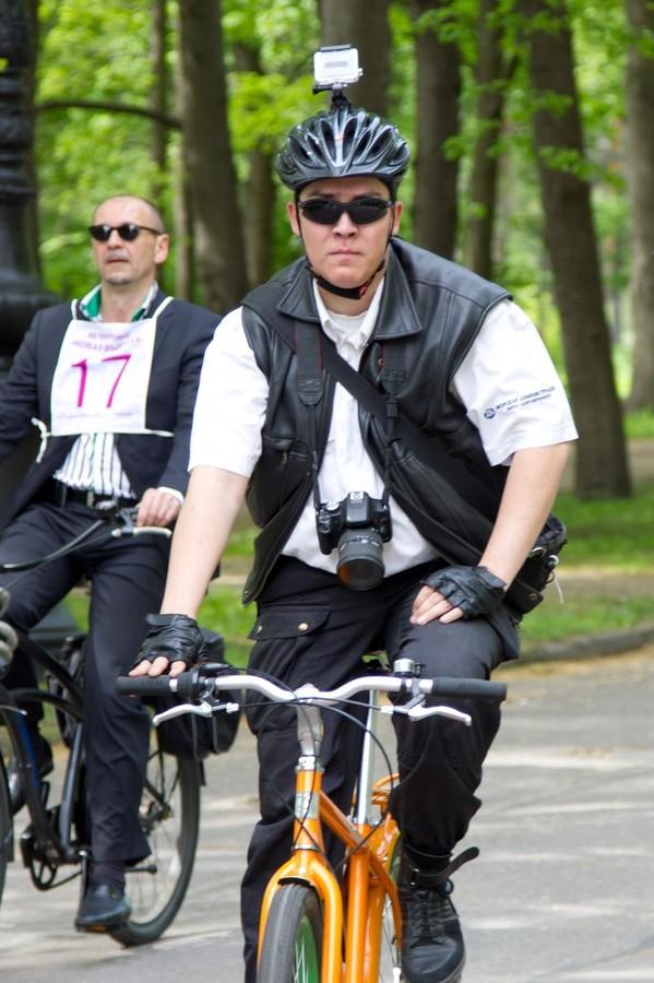 Пресс-секретарь клуба ВелоПитер, Павел Семёнов. Фото: Сергей Диденко   velootpusk.ru
