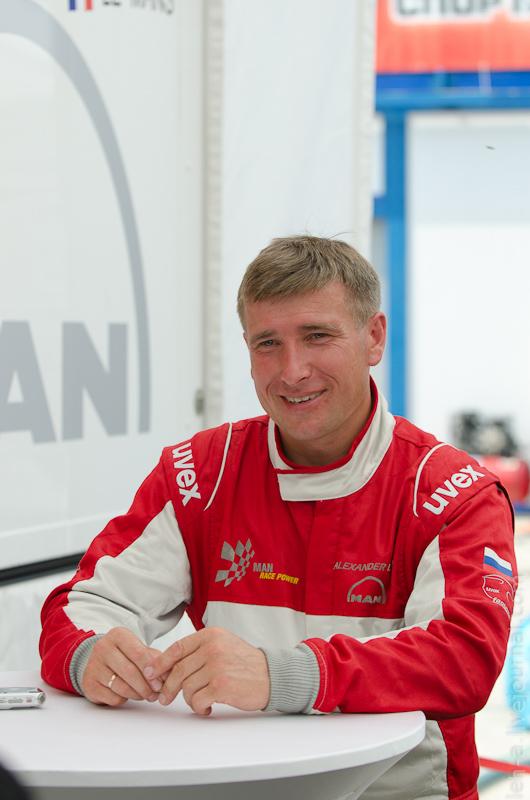 Александ Львов— российский пилот Truck Racing