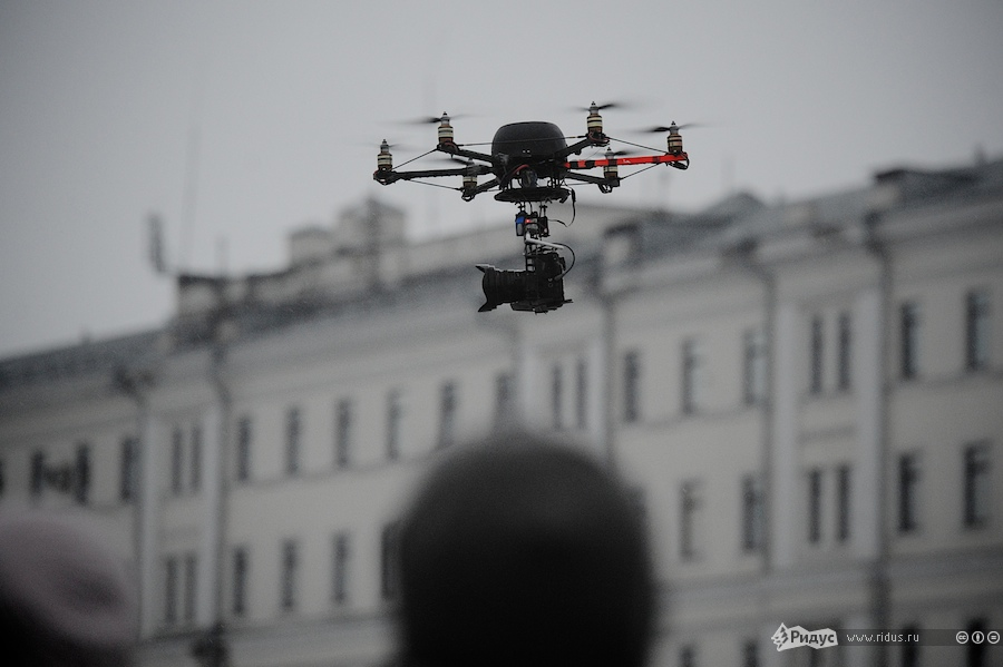 Летающая камера Ридуса.