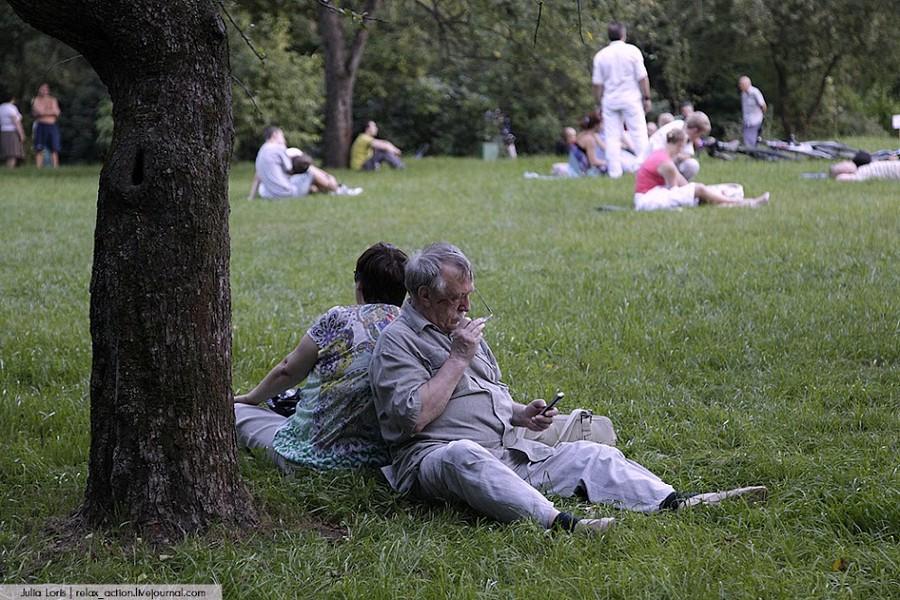 Парк Сокольники.  © Julia Loris