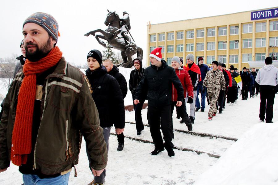 Русские пробежки  © Олеся Шевцова/Ridus.ru