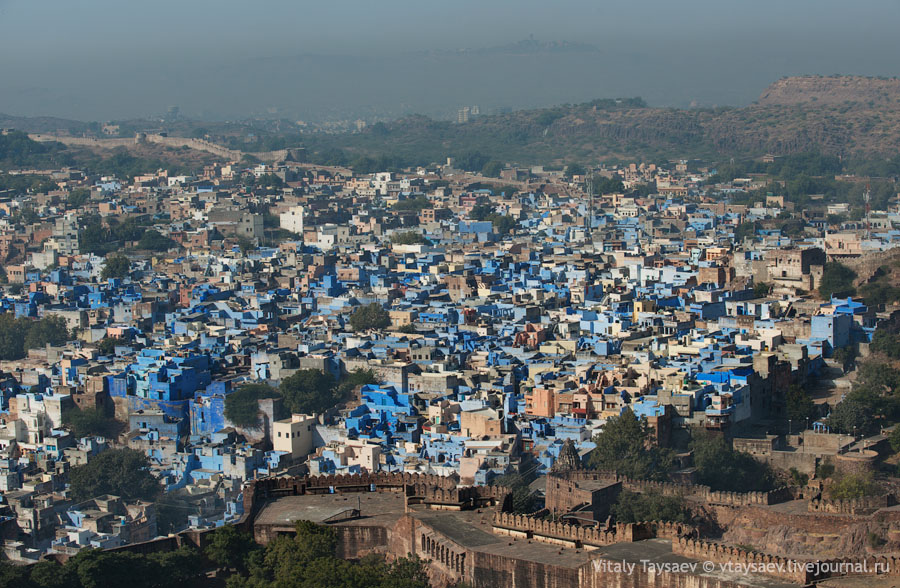 Blue quarter, Jodhpur, India