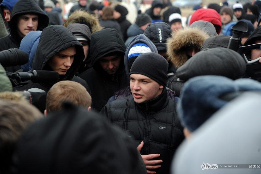 Московские болельщики съехались в Малоярославец в поддержку своего товарища