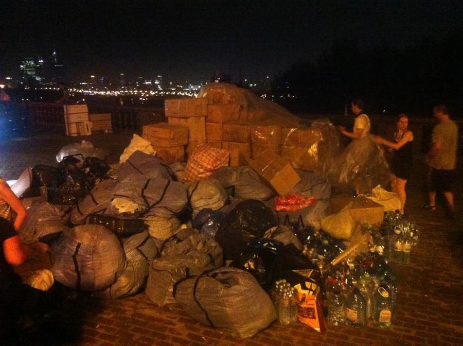 Гуманитарная помощь Крымску