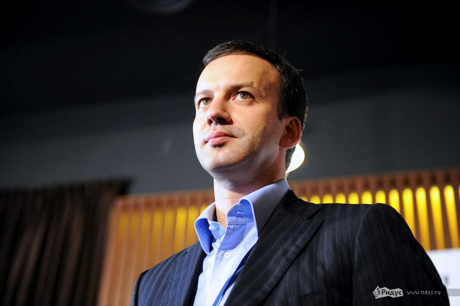 Помощник президента РФАркадий Дворкович наIVВсероссийском инновационном конвенте. © Антон Белицкий/Ridus.ru