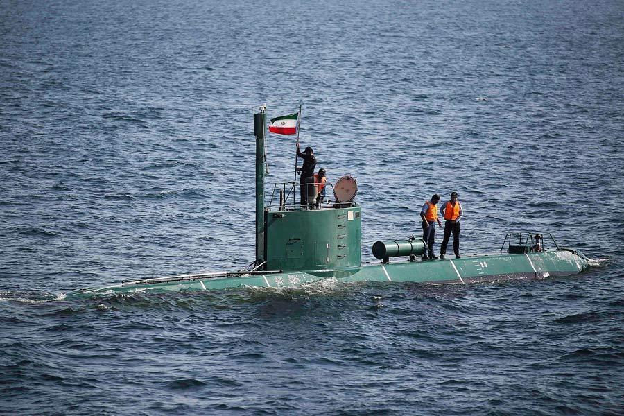 Подлодка ВМС Ирана. © Ali Mohammadi/IIPA/REUTERS