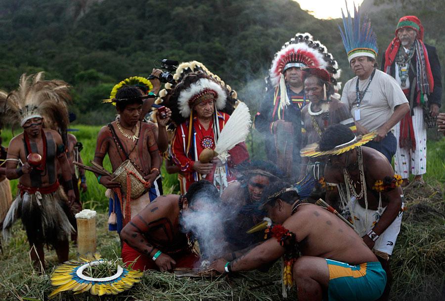 фото сравнение индейцев разных племен канал