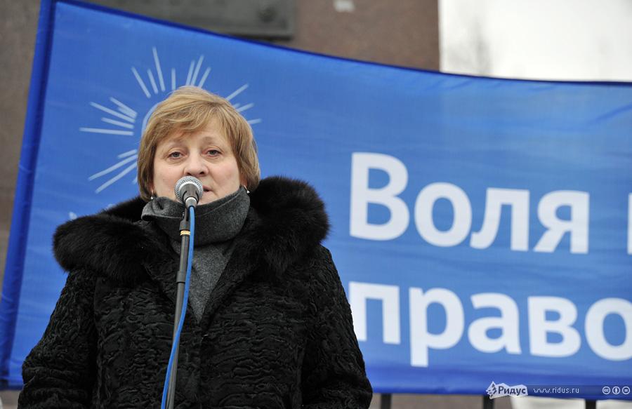 Митинг незарегистрированной партии Воля наБолотной площади. © Антон Тушин/Ридус