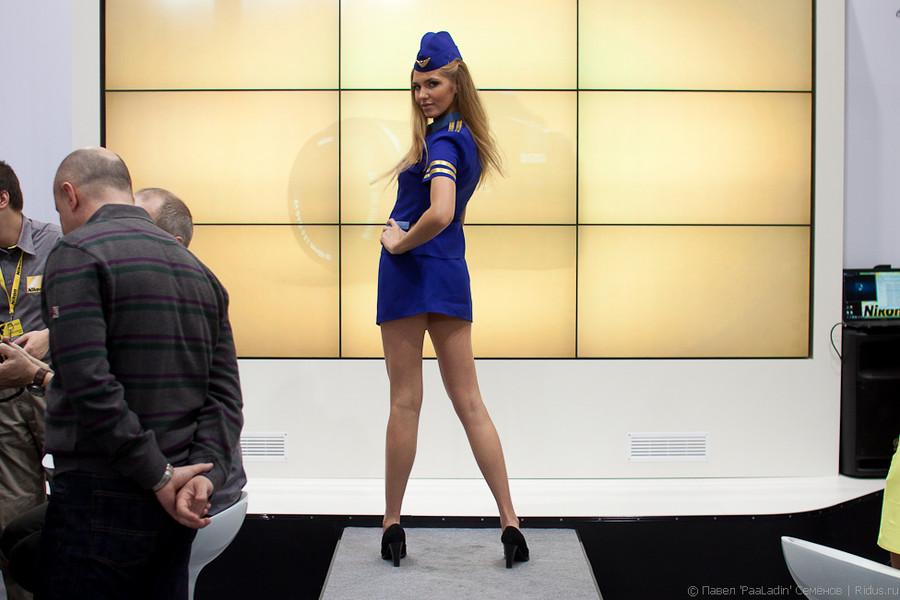 Модель наподиуме. Фото: © Павел «PaaLadin» Семёнов |Ridus.ru