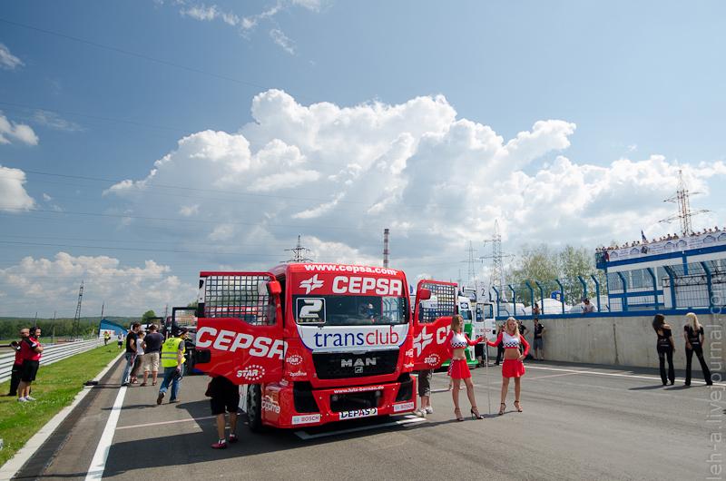 FIAEuropean Truck Racing Championship насмоленском кольце