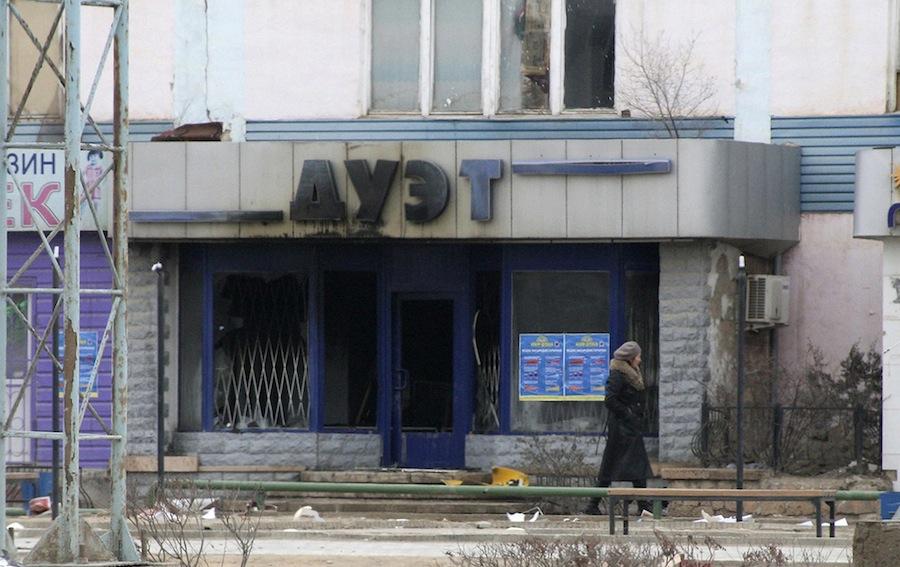 Жанаозен, 17декабря, после подавления беспорядков. © Olga Yaroslavskaya/Reuters