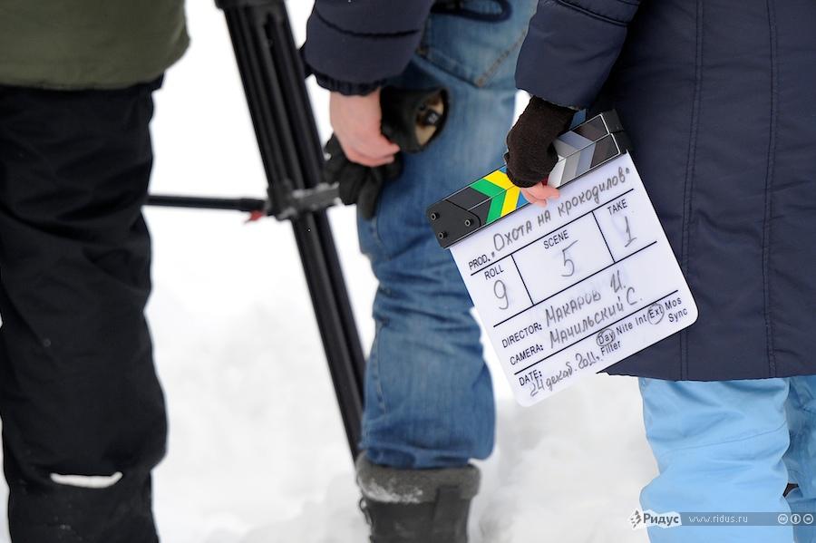 Насъемочной площадке фильма «Охота накрокодилов». © Антон Белицкий/Ridus.ru