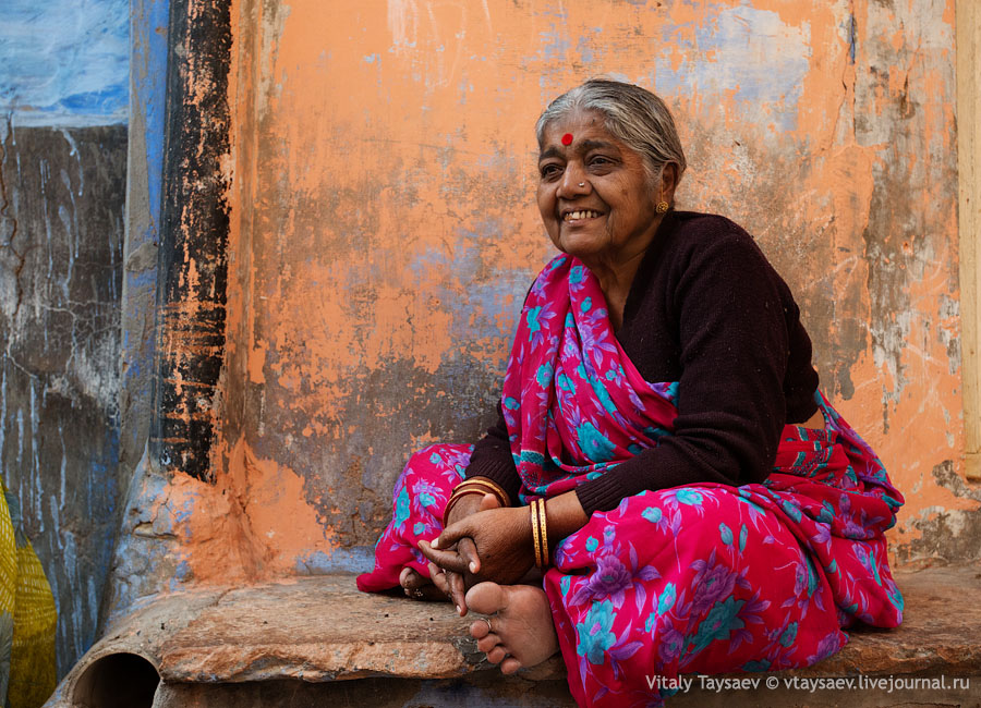 Old grandma, Jodhpur, India