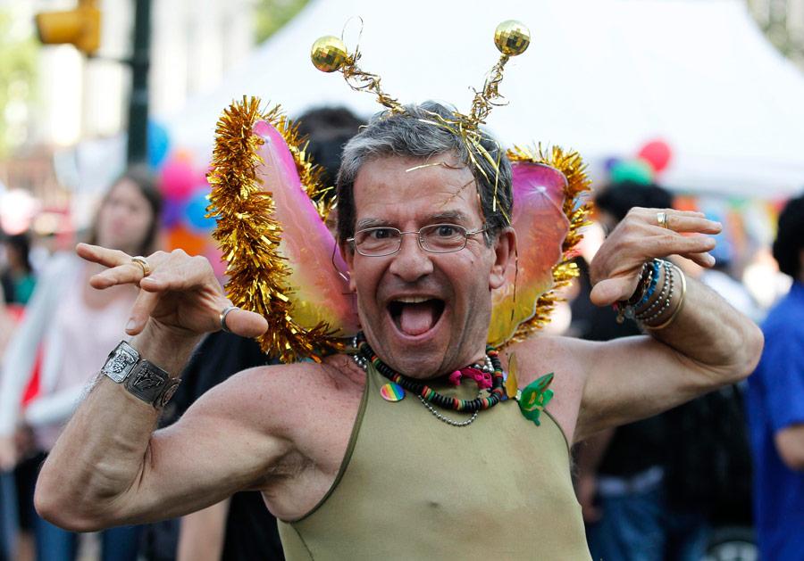 Юбилейный XX гей-парад в Буэнос-Айресе.