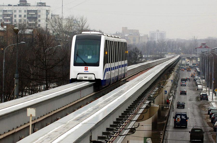 Московские власти прекратили субсидировать монорельсовую дорогу, открытую в 2004 году и проходящую от станции метро...