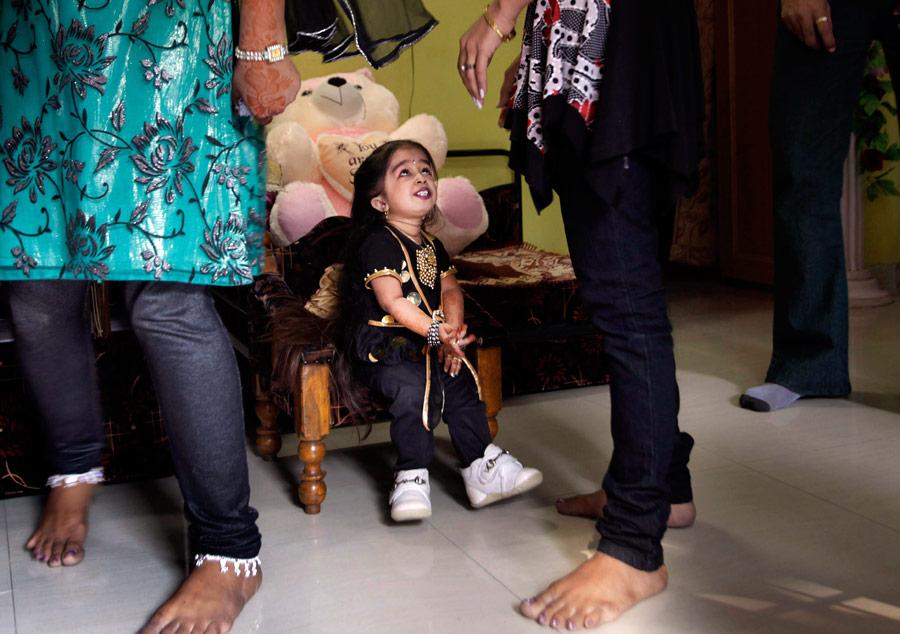 Джиоти Амге всвоем доме перед пресс-конференцией. © Manish Swarup/AP Photo