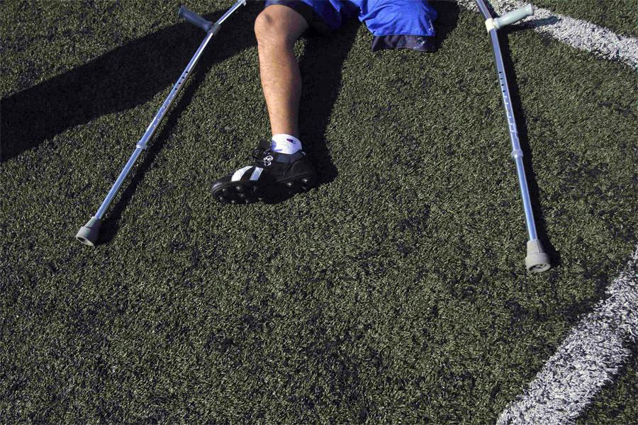 Тренировка мексиканских спортсменов перед Чемпионатом мира пофутболу среди людей сампутированными конечностями. © Reuters