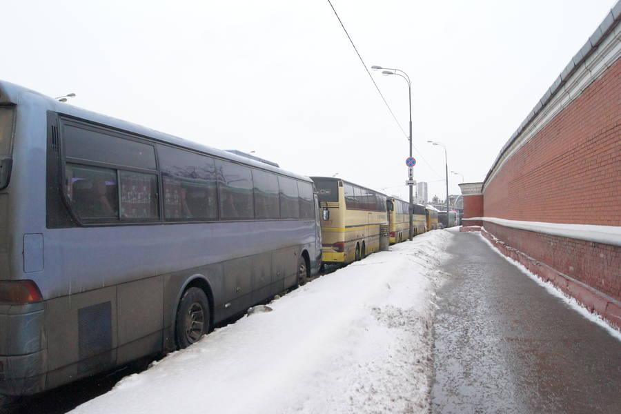 Хамовнический вал. Устен Новодевичьего кладбища.