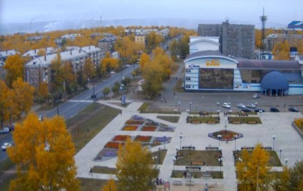 Утро 24 сентября. Фото http://bratsk.teleos.ru/cameras/item/2