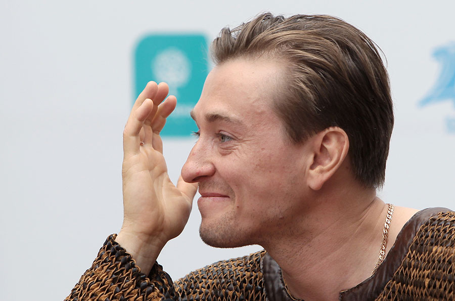 Сергей безруков на пресс конференции