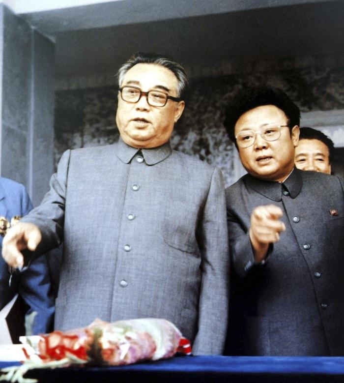 КимИрСен иКим Чен Ир. Сентябрь 1983. © Handout/Files/Reuters